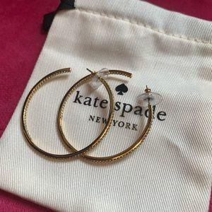 Kate Spade Save the Date Hoop Earrings
